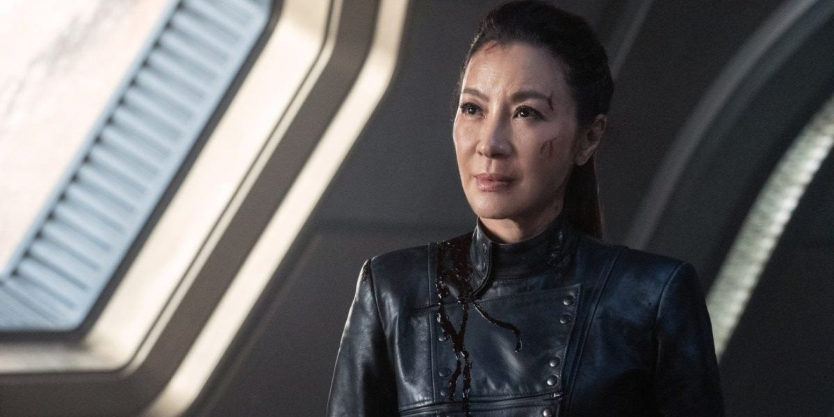 Georgiou looking all scuffed up Star Trek: Discovery Paramount+