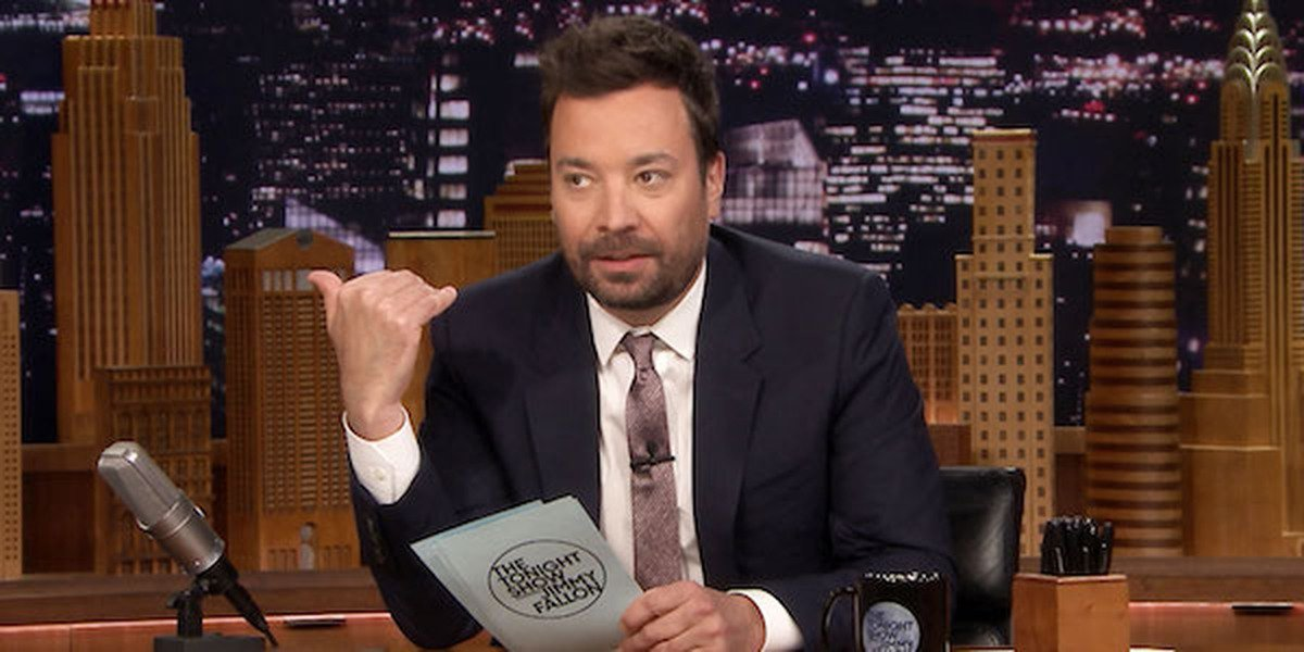 Jimmy Fallon on The Tonight Show