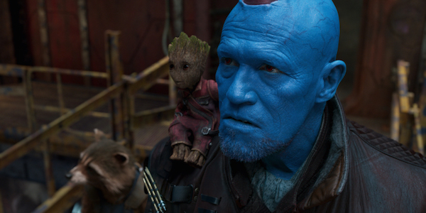 Rocket Yondu and Groot in Guardians of the Galaxy 2