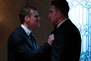 EastEnders Jay Mitchell and Callum Highway