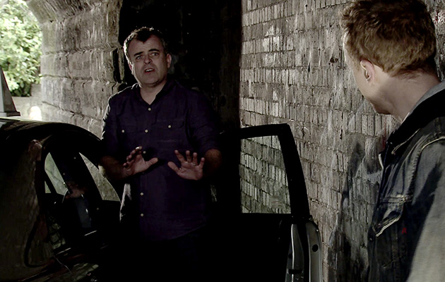 Coronation Street spoilers: Will Steve McDonald escape the armed robber?