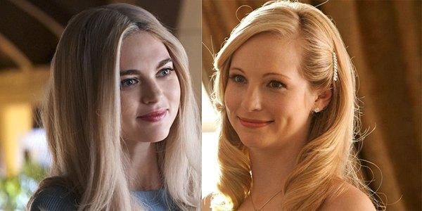 Lizzie Saltzman Legacies Caroline Forbes The Vampire Diaries The CW