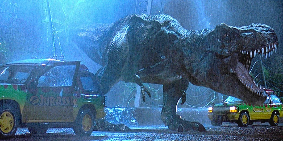 Screenshot from 1993's Jurassic Park