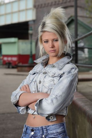 Danielle: 'My EastEnders audition was terrifying!'