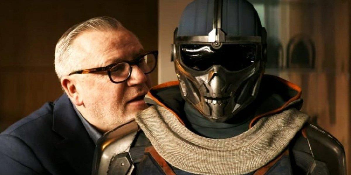 Dreykov alongside Taskmasker in Black Widow.