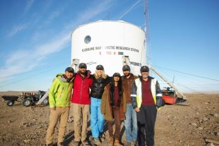 Crewmembers of the Mars 160 mission