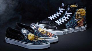 Vans Metallica shoes