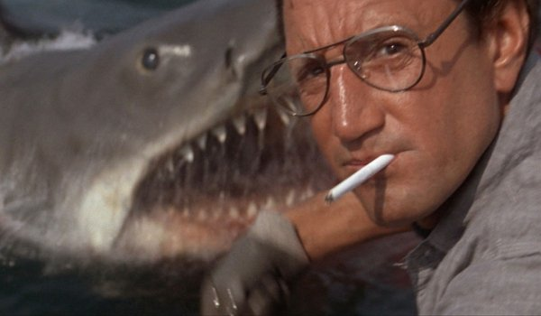 Jaws Roy Scheider chumming the waters