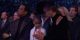 Blue Ivy Looks Just Like Mom Beyonce At Age 7
