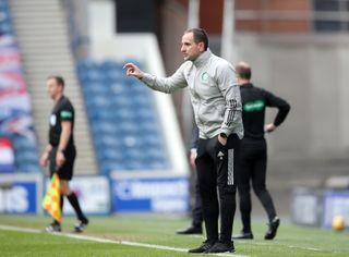 Rangers v Celtic – Scottish Premiership – Ibrox Stadium