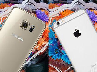 9564d049680 One epic, multigenerational war dominates the smartphone world: Apple  iPhone vs. Samsung Galaxy S. Photography is a main battleground.