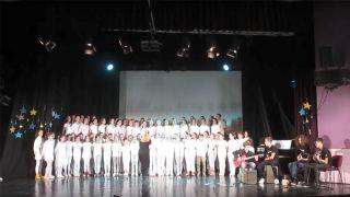 Serbian school choir