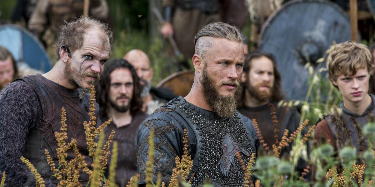 Vikings Floki Gustaf Skarsgård Ragnar Lothbrok Travis Fimmel History