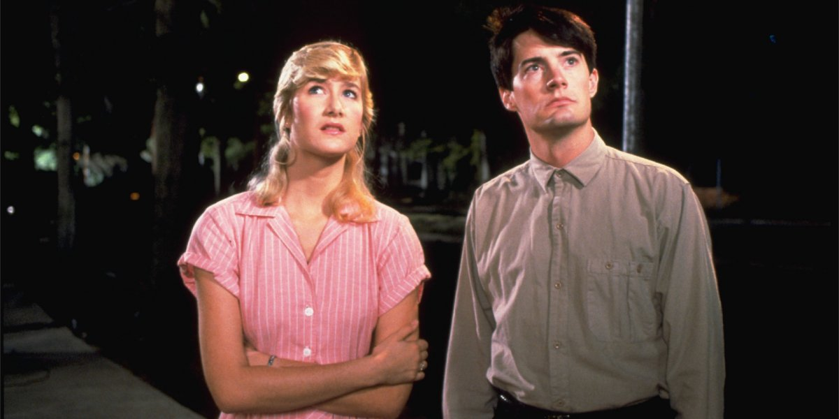 Laura Dern and Kyle MacLachlan in Blue Velvet