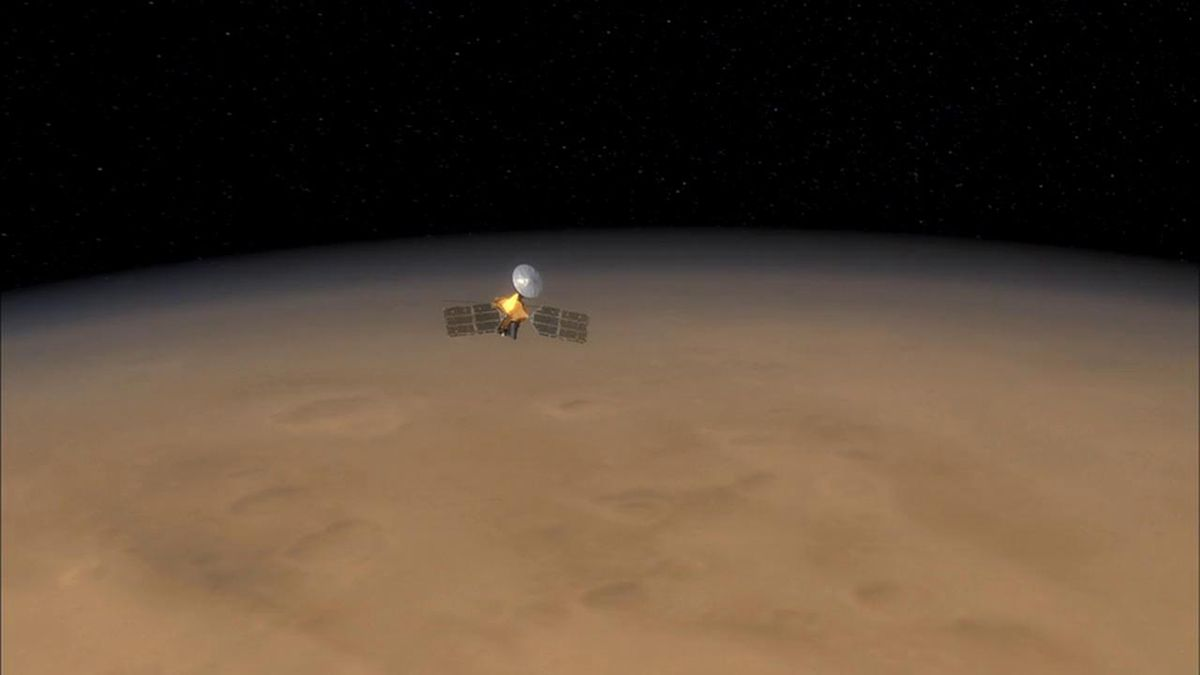 NASA's Prolific Mars Orbiter Completes 60,000th Lap of Red Planet