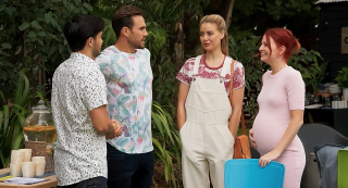 Neighbours spoilers, David Tanaka, Aaron Brennan, Chloe Brennan, Nicolette Stone