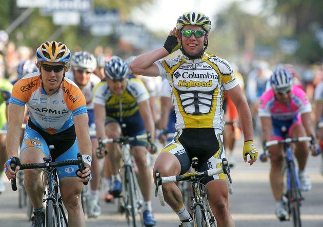 Mark Cavendish Tyler Farrar Tirreno Adriatico 2009 stage 7