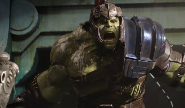 Thor Ragnarok Hulk gladiator scene