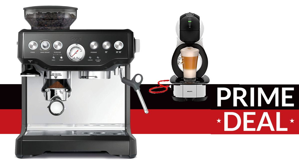 Best Amazon Prime Day coffee machine deals from bean to ...