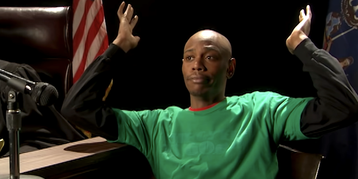 dave chappelle chappelle's show comedy central