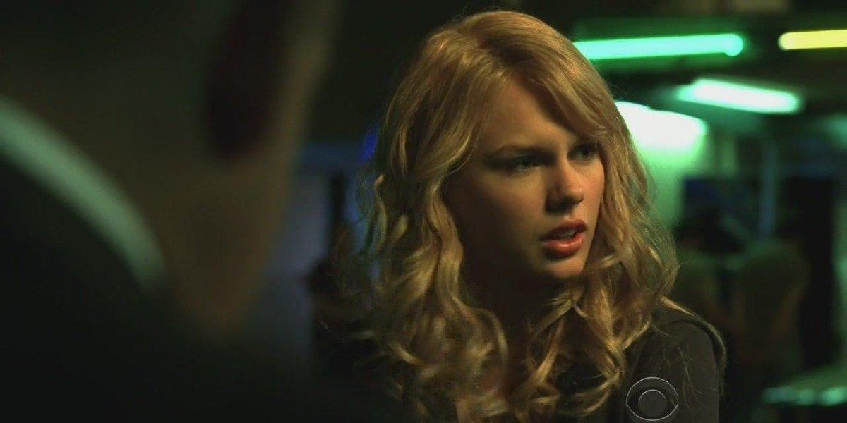 Taylor Swift on CSI