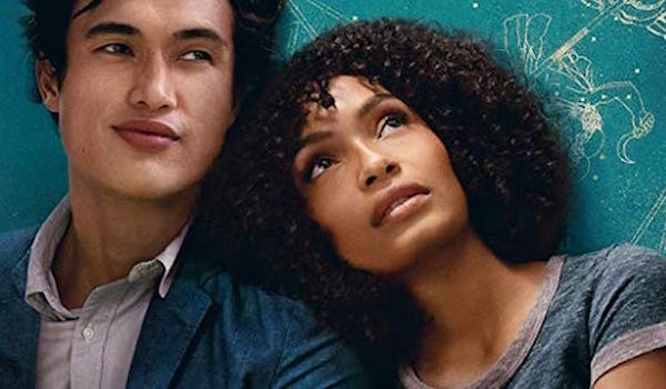 Yara Shahidi and Charles Melton in A Sun is Also a Star