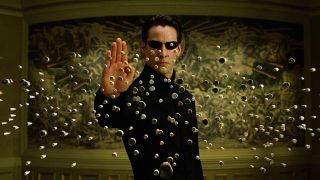 The Matrix 4 with Keanu Reeves