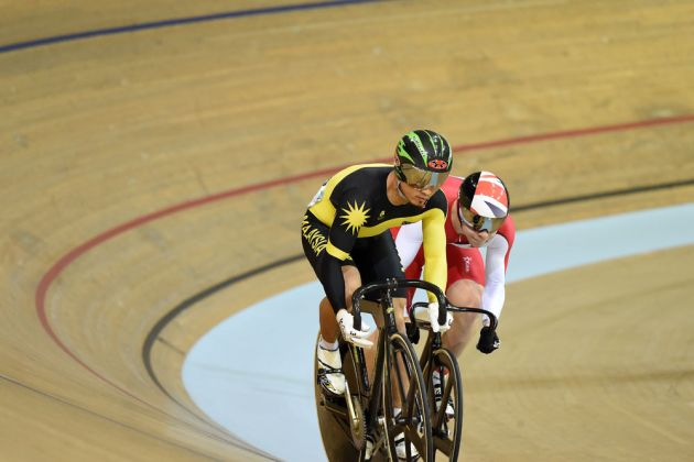 Awang and Hindes, Commonwealth Games 2014, day one