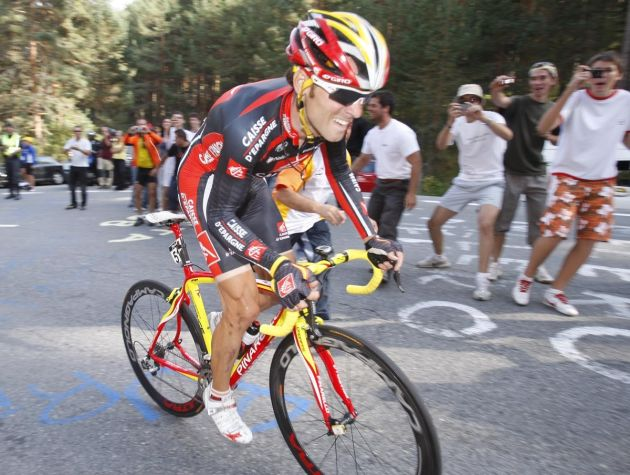 Alejandro Valverde stage 20 tour of spain 2008