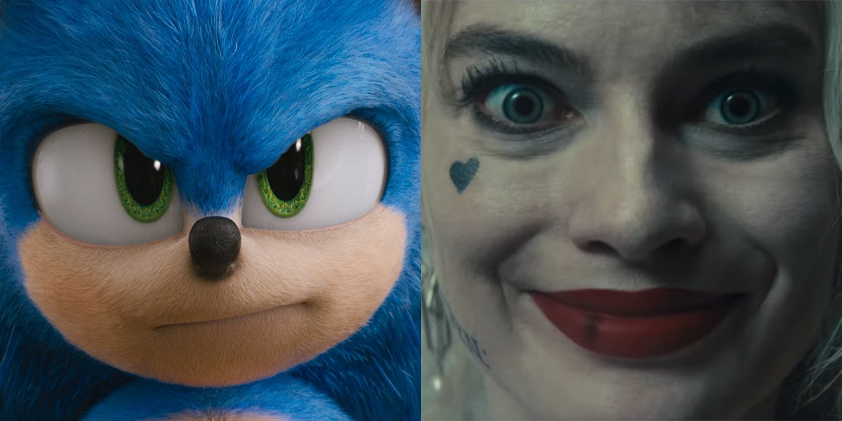 Sonic and Harley Quinn
