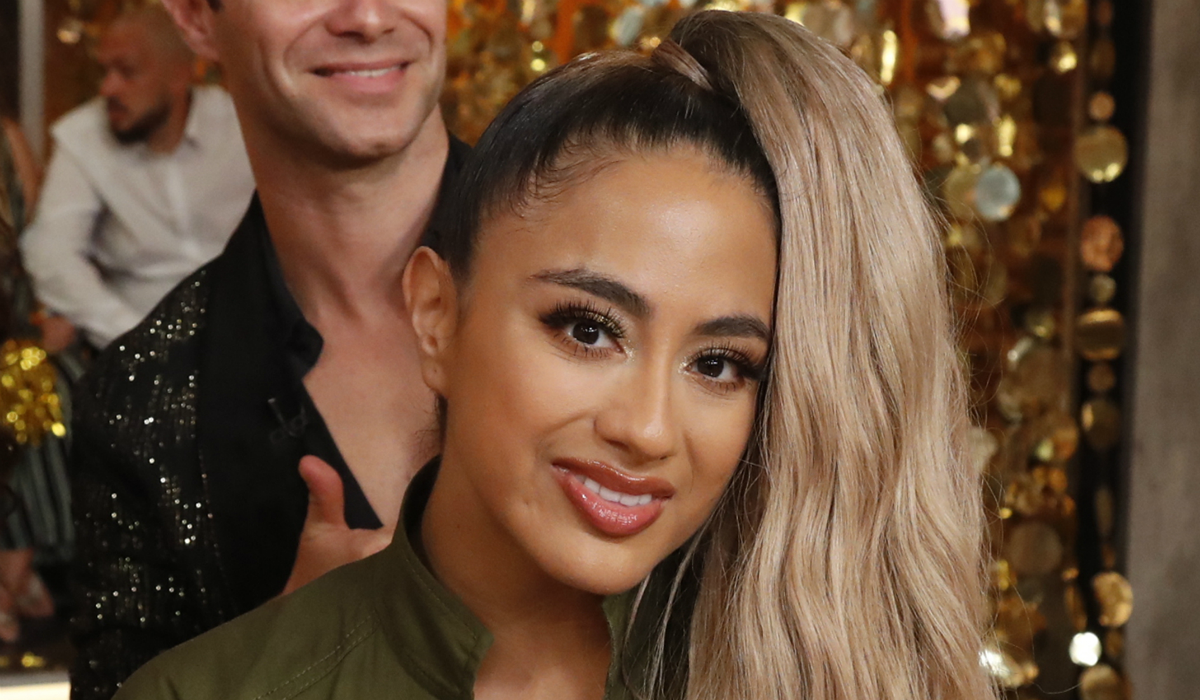 Good Morning America Dancing with the Stars Ally Brooke ABC