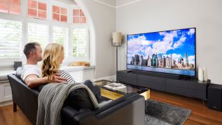 Nothing is brighter than a Samsung QLED. (Credit: Samsung)