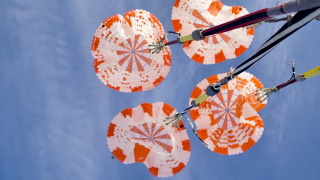 See SpaceX's Crew Dragon Parachutes in Action in This Epic Video Compilation