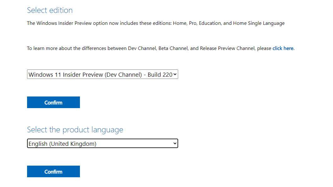 Microsoft Windows 11 ISO download