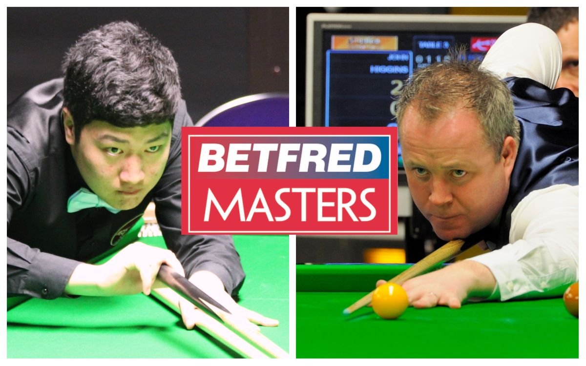 Masters snooker live stream: watch the 2021 Bingtao vs Higgins final for free