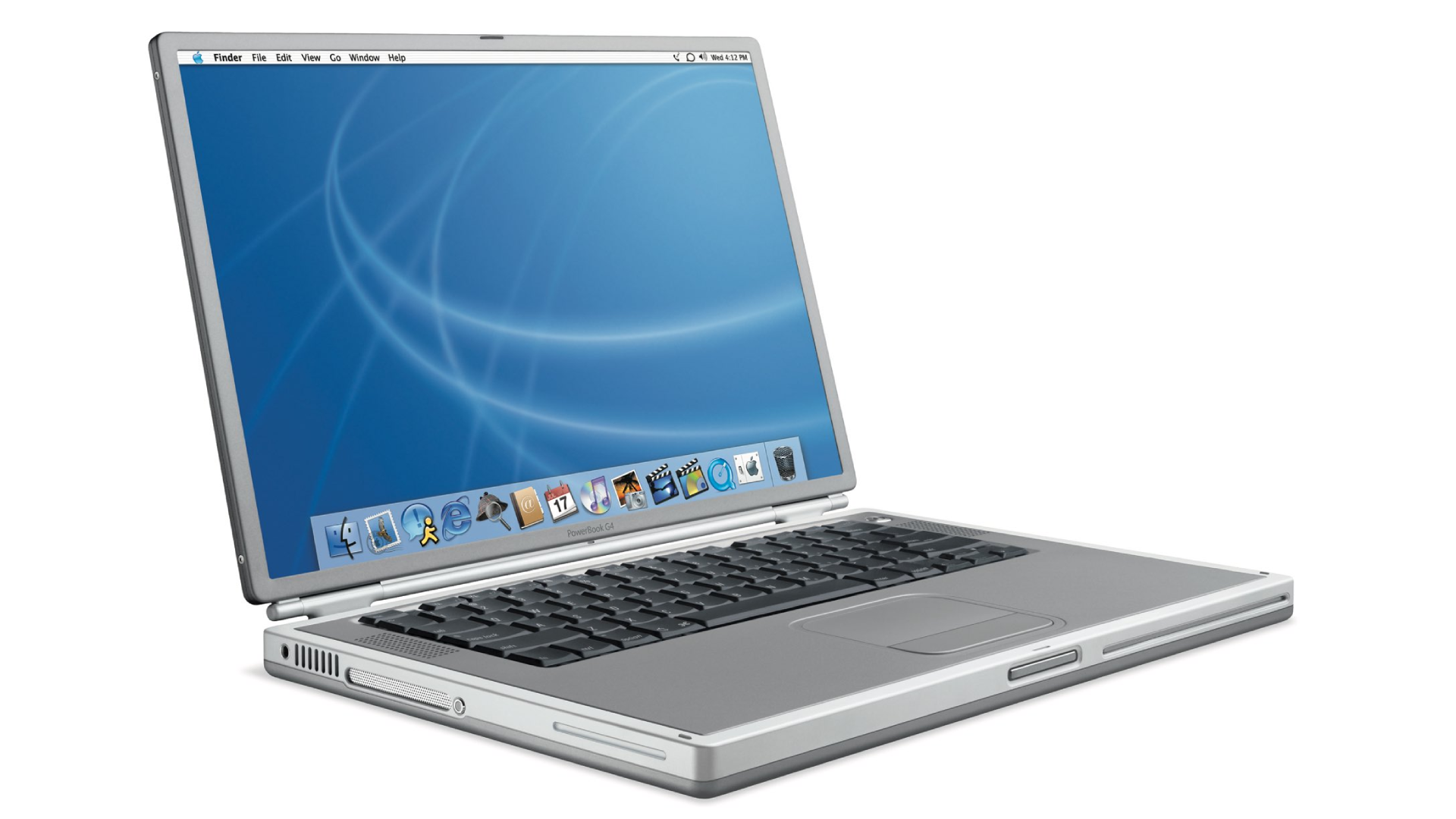 Apple's PowerBook G4 laptop from 2004