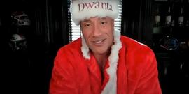 Dwayne Johnson Played Santa And Delivered A Heartwarming Christmas Surprise On John Krasinski's YouTube Show