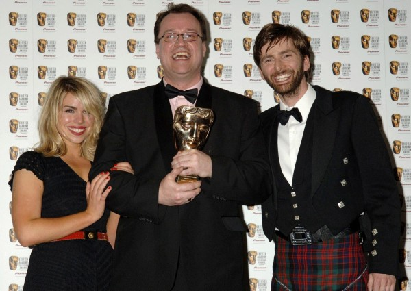ussell T. Davies and David Tennant
