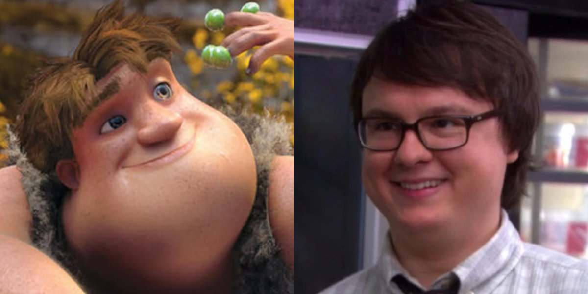 Thunk Crood and Clark Duke
