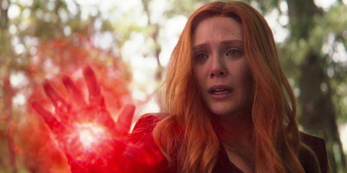 Elizabeth Olsen as Wanda Maximoff/ Scarlet Witch in Avengers