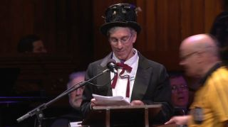 Ig Nobel Awards master of ceremonies, Marc Abrahams, editor of the Annals of Improbable Research, on Sept. 18, 2014, at the