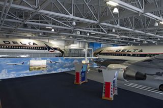 Delta Flight Museum Takes Off with Nanolumens NanoSlim Display