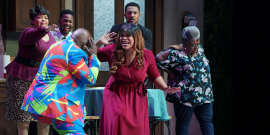 Tyler Perry's Farewell Play Cast Talks Celebrating Black Culture Through Art