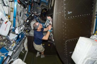 Astronauts Tackle Glitches with Space Water Recycler