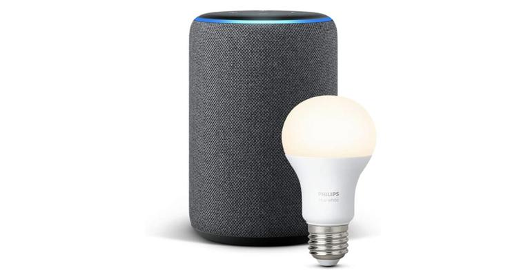 Amazon Echo Plus Philips Hue bulb deals
