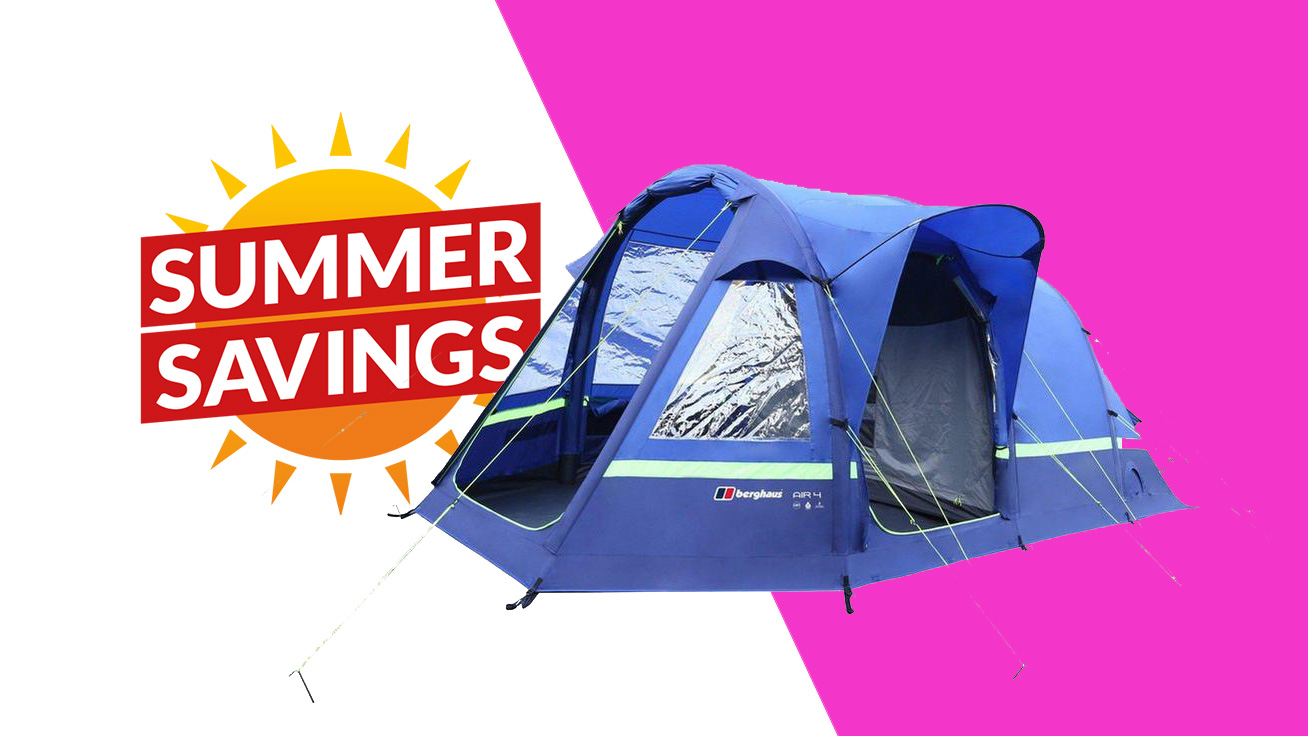 Summer sale knocks 43% off this Berghaus inflatable tent
