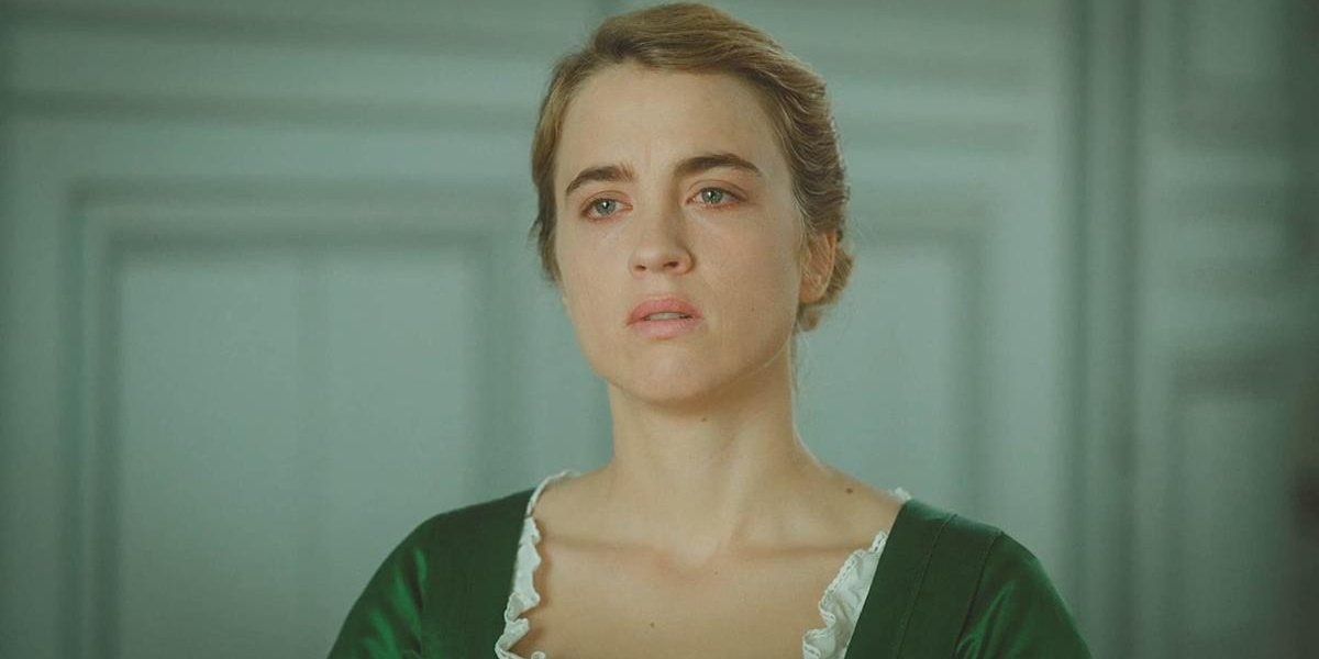 Adele Haenel as Heloise in Portrait of a Lady on Fire.
