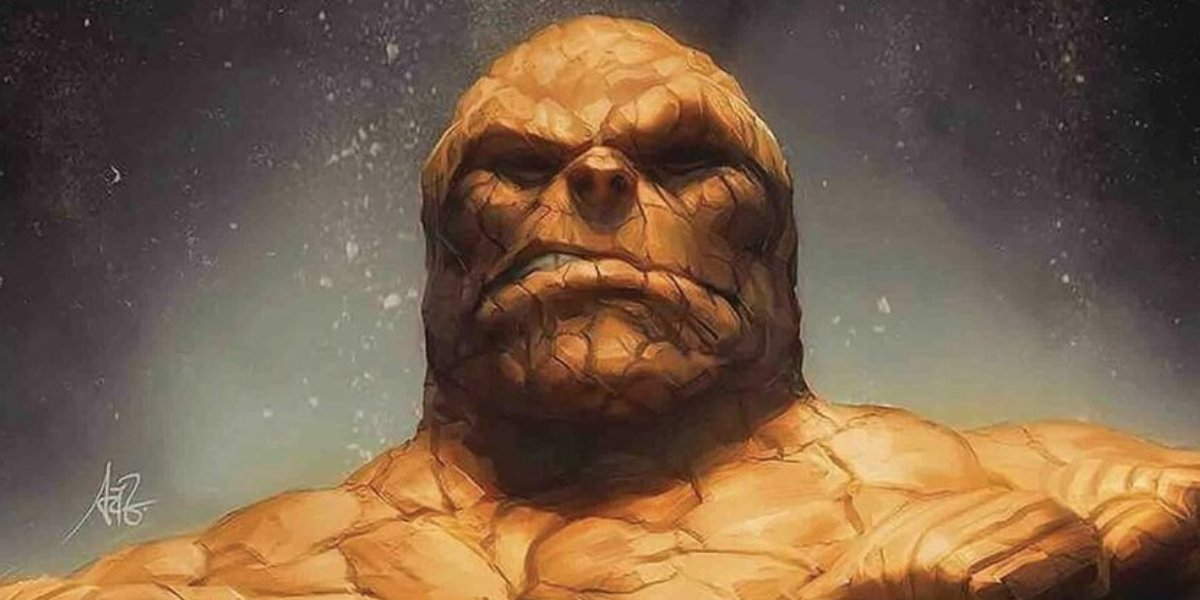 Ben Grimm is the Fantastic Four's The Thing
