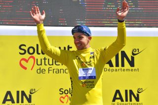 Alvaro Hodeg at the recent Tour de l'Ain