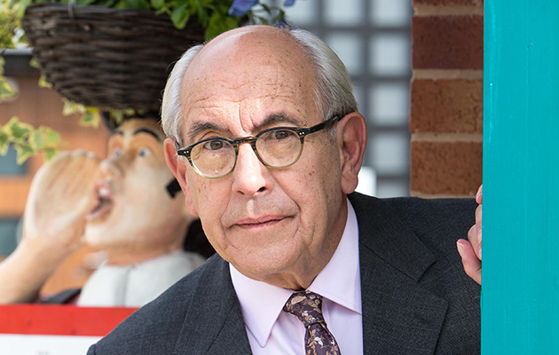 Coronation Street star Malcolm Hebden as Norris Cole in Coronation Street